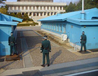 Strzały w strefie zdemilitaryzowanej na granicy Korei Północnej i...