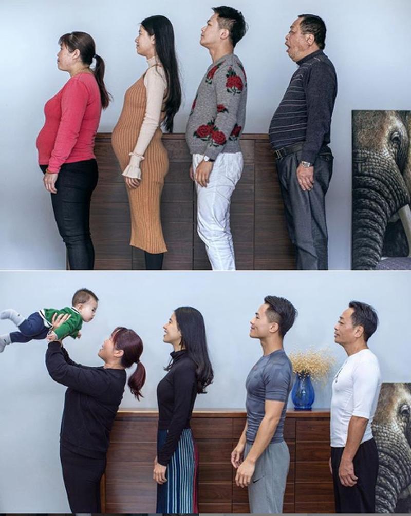 Przed i po zmianie trybu życia