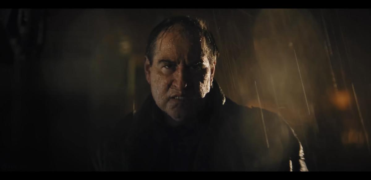 "Kadr z filmu ""Batman"" (2021)"