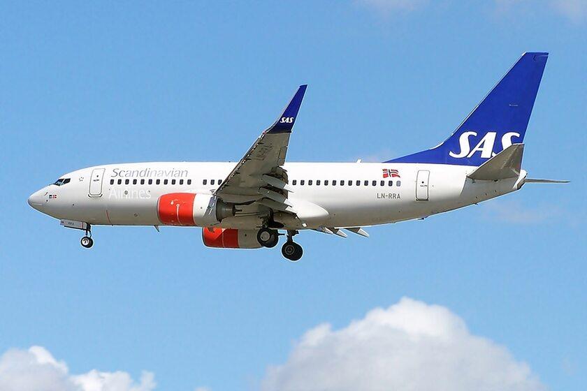 Samolot linii SAS