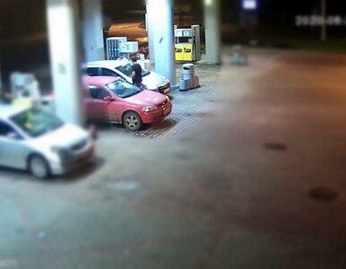 Kamera nagrała seryjnego złodzieja benzyny. Wreszcie wpadł