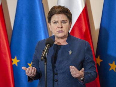 Szydło o zawieszeniu strajku przez ZNP: Chcę podziękować za tę decyzję....