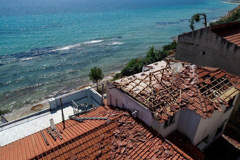 Grecja po huraganie