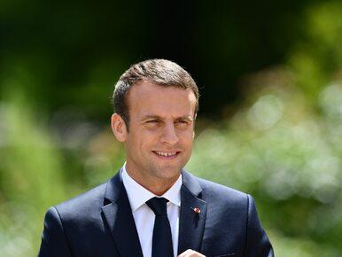 Macron krytykuje przywódców Europy Wschodniej i przypomina słowa Geremka