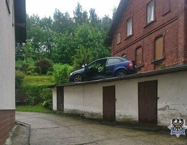 Wałbrzych. Policyjny pościg zakończony na dachu. Okazało się, że...