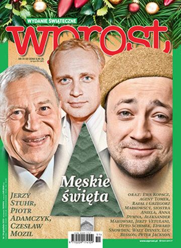 Okładka tygodnika Wprost nr 51-52/2013 (1608)