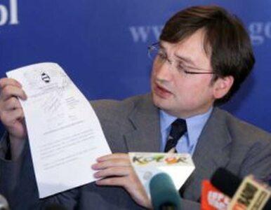 """Ziobro pozywa """"Politykę"""" za tekst o hakach"""