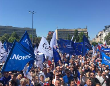 """Marsz opozycji i KOD. """"Jesteśmy i będziemy w Europie"""""""