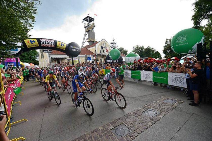 "Tour de Pologne, etap 5 Kopalnia Soli ""Wieliczka"""
