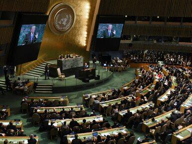 """Donald Trump na forum ONZ chwalił patriotyzm Polaków. """"To miłe zaskoczenie"""""""