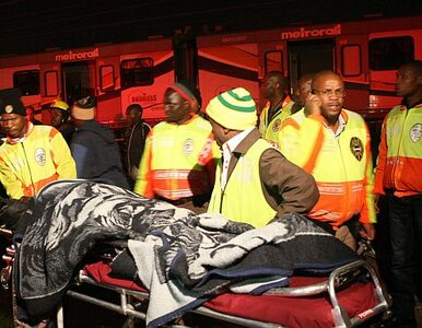 Katastrofa kolejowa w RPA, 857 rannych