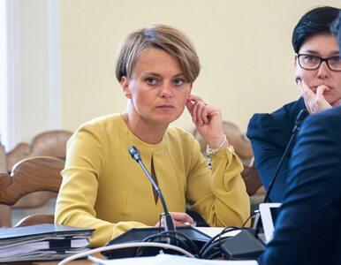 """""""To nie było ze mną konsultowane"""" . Minister Jadwiga Emilewicz o płacy..."""