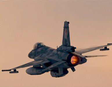 Awaryjnie lądowanie włoskiego myśliwca w Radomiu