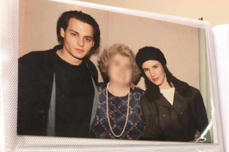 Maria Snoeys-Lagler, Johnny Depp i Juliette Lewis