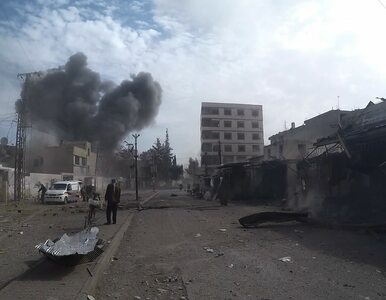 Przerażające doniesienia z Syrii o użyciu broni chemicznej. Departament...