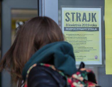 NA ŻYWO: Strajk nauczycieli. W całej Polsce zamknięte szkoły i odwołane...