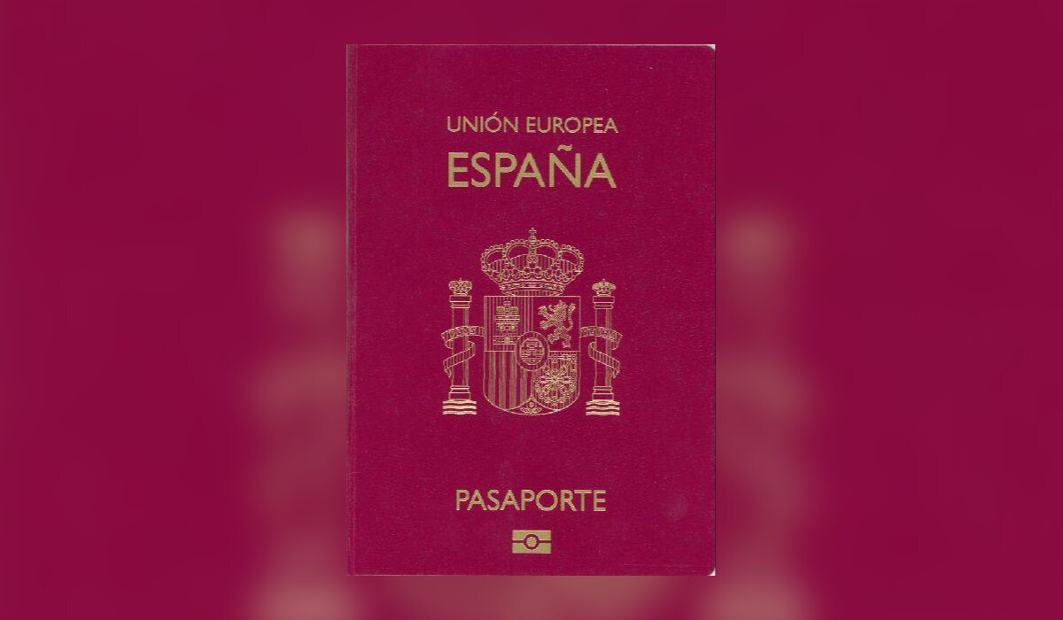 3. Hiszpański paszport