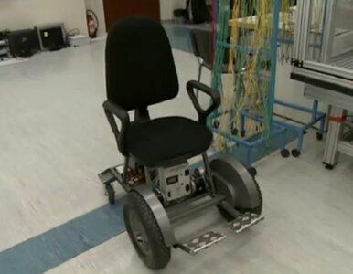 Polski student skonstruował wózek inwalidzki sterowany oddechem
