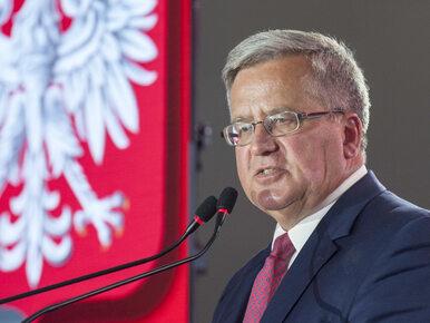 Komorowski: Platforma i Nowoczesna powinny stworzyć jedną partię