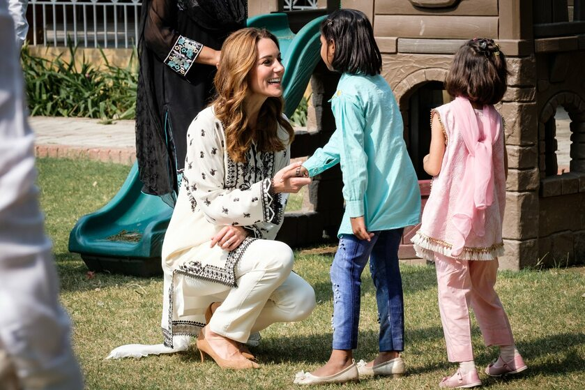 Księżna Kate w SOS Wiosce Dziecięcej
