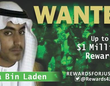 Syn Osamy bin Ladena poszukiwany. Zawrotna suma za informacje o terroryście