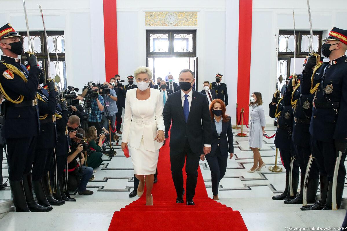 Zaprzysiężenie Andrzeja Dudy. Prezydent zainaugurował drugą kadencję