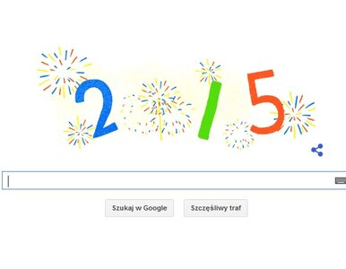Google Doodle wita Nowy Rok