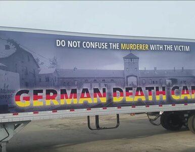 """Sprawiedliwość na 18 kołach? Ciężarówka """"German Death Camps"""" wyruszyła w..."""
