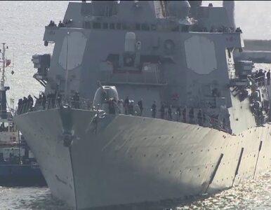 Amerykański niszczyciel  zacumował w Gdyni