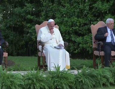 Papież modlił się z prezydentami Izraela i Palestyny w Ogrodach...