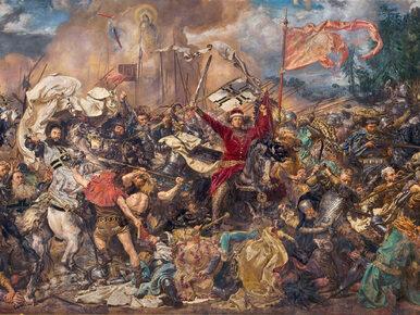 Armaty były, ale raczej się nie przydały. Jakiej broni używali Krzyżacy...