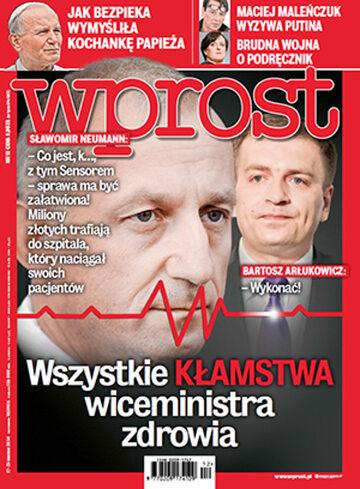 Okładka tygodnika Wprost nr 12/2014 (1620)