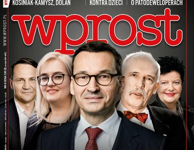 """Ranking 50 najbogatszych polskich polityków. Co w nowym """"Wprost""""?"""
