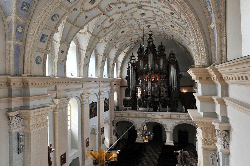 Organy w kazimierskiej farze
