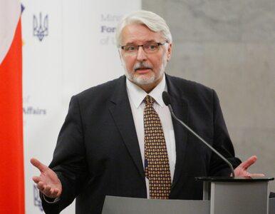Waszczykowski o wyborze szefa RE: Mamy jasne stanowisko węgierskie