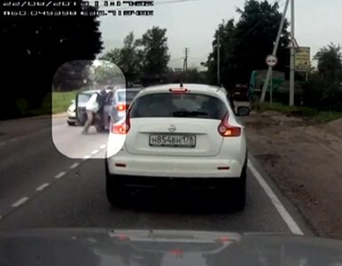 Rosjanin zemścił się na sprawcy wypadku