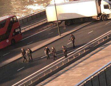 Atak terrorystyczny w Londynie. BBC: Nie żyją dwie osoby i napastnik