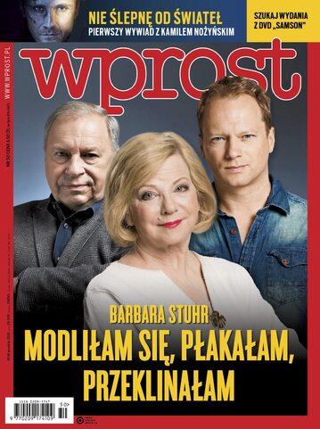 Okładka tygodnika Wprost nr 50/2018 (1865)