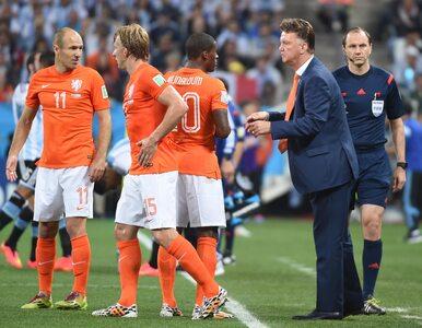 Van Gaal: Powinienem był zmienić bramkarza